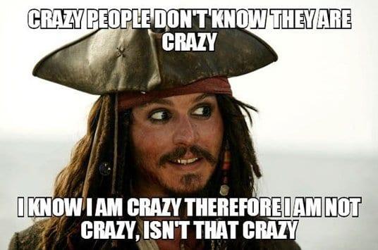 Funny Meme For Crazy Friend : Funny crazy logic