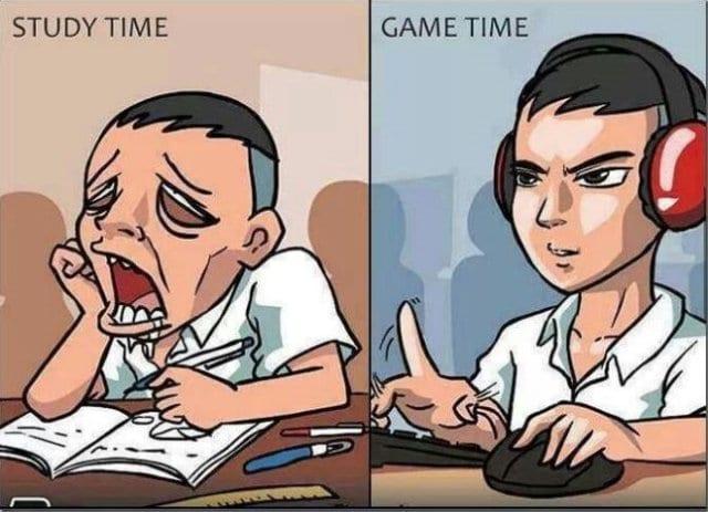funny-lol-meme-2014-study-time-vs-game-time