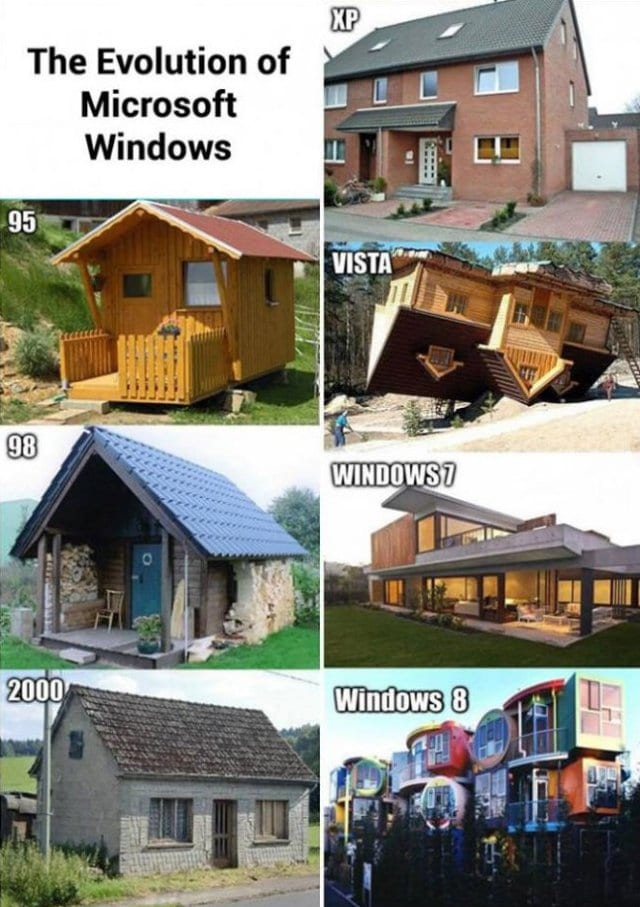funny-pics-2014-the-evolution-of-microsoft-windows-as-shown-with-houses