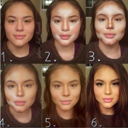 how-women-transform-with-makeup-2014
