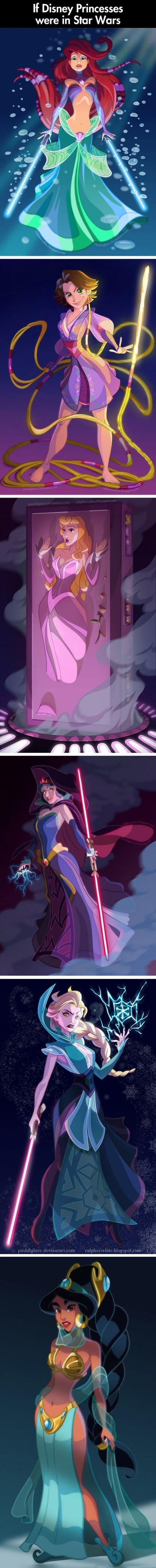 if-disney-princesses-were-in-star-wars