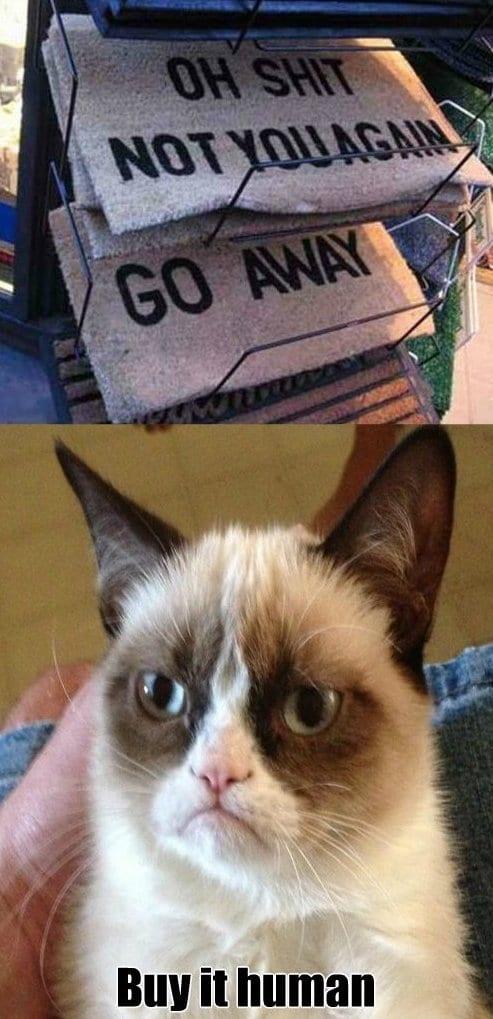 lol-grumpy-cats-favorite-door-mat