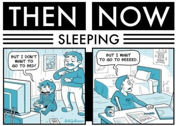 lol-pics-2014-then-vs-now-sleeping