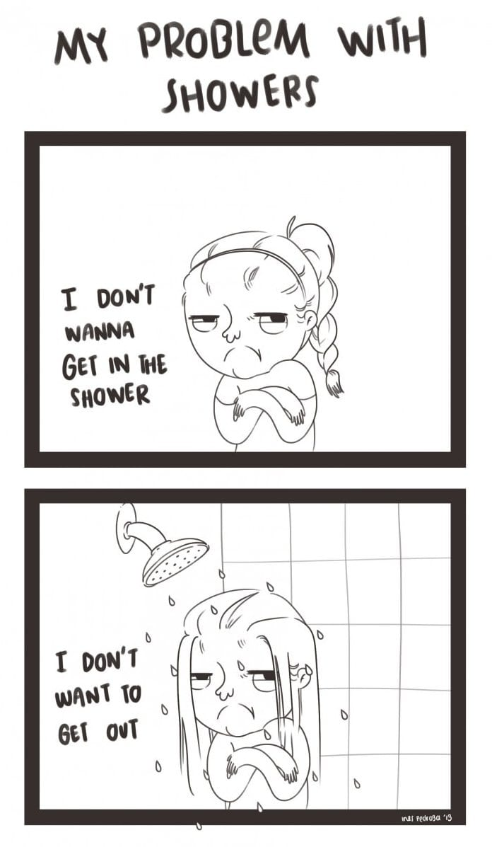 my-problem-with-showers