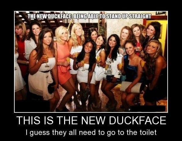 new-duckface