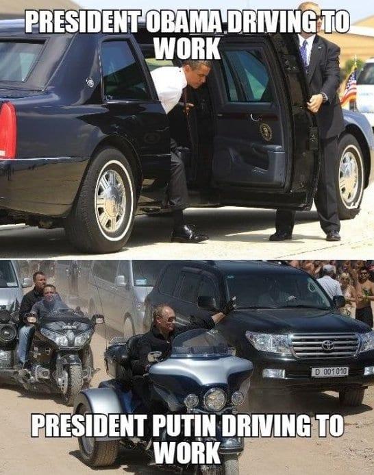 Obama vs. Putin 2014