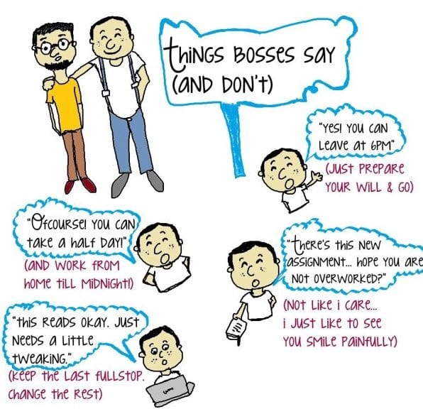 things-bosses-say