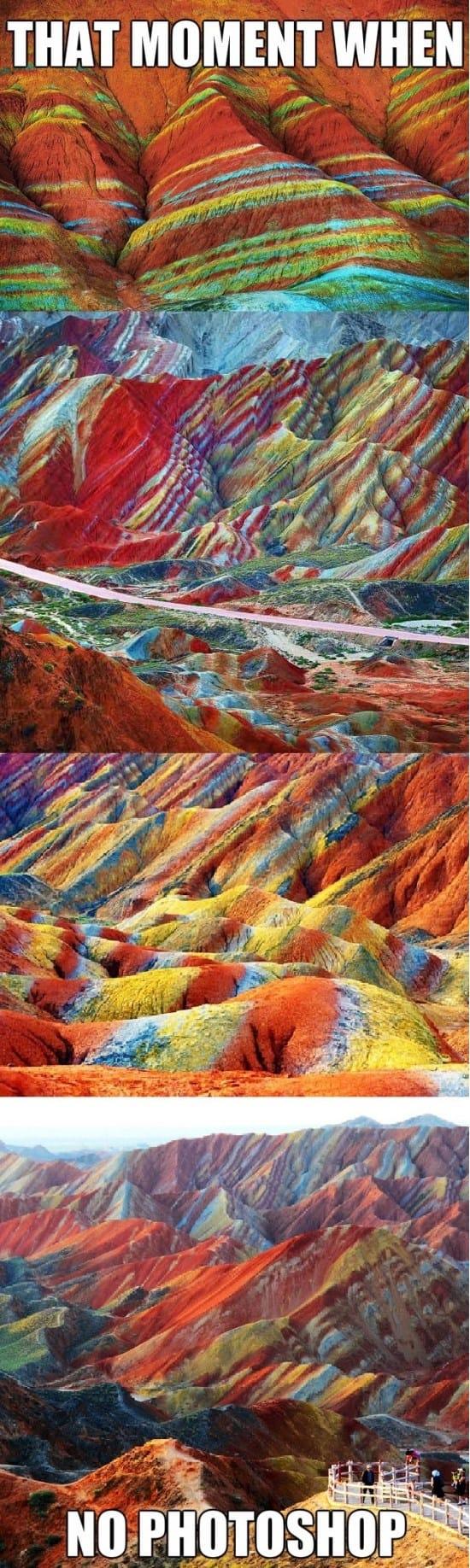 the-zhangye-danxia-mountains-funny-meme-and-gif