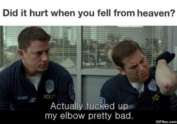 did-it-hurt-when-you-fell-from-heaven-meme