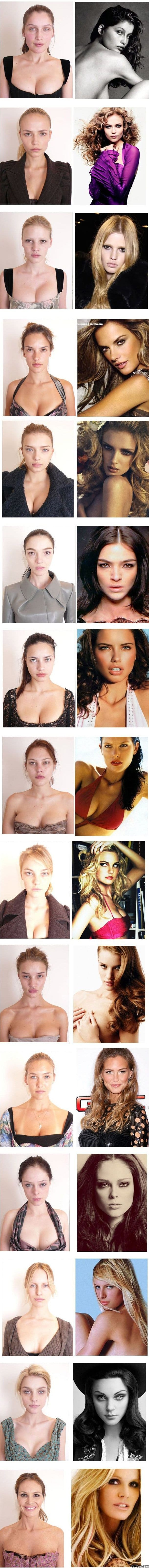 supermodels-with-makeup-vs-without-makeup-meme