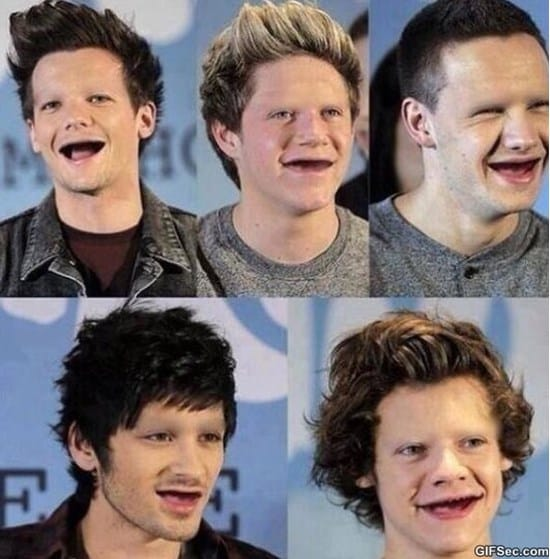 one-direction-without-teeth-or-eyebrows-and-meme