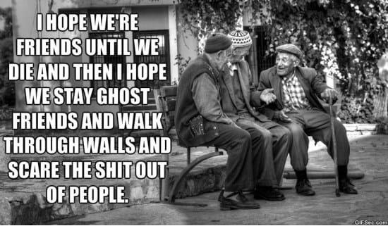 Funny Memes For Friendship : Eternal friendship meme
