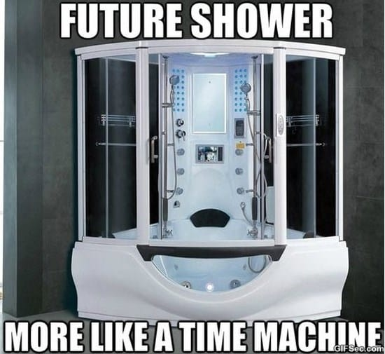 funny memes about showers