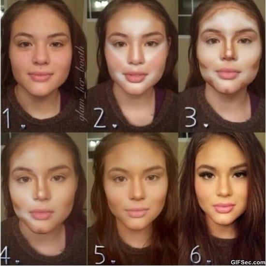 how-women-transform-with-makeup-meme