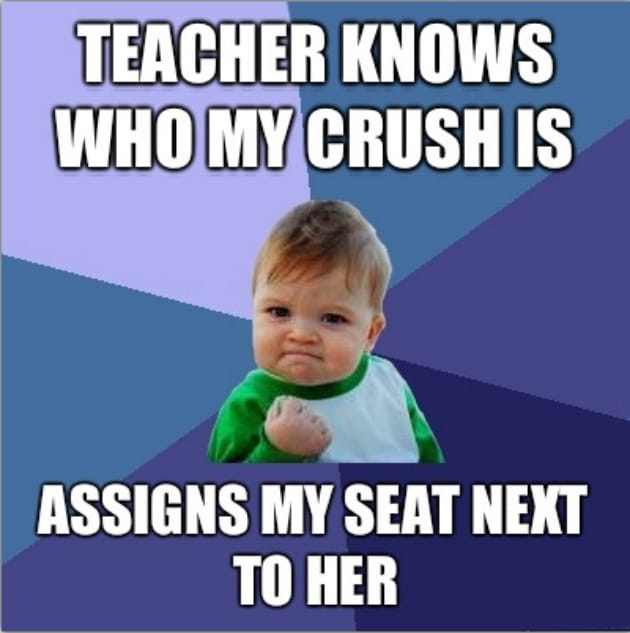 Funny Memes For K Ds : And then one fine day in class