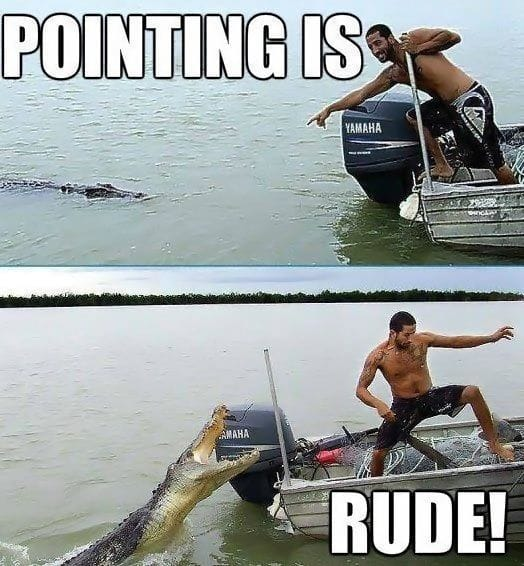 pointing-is-rude