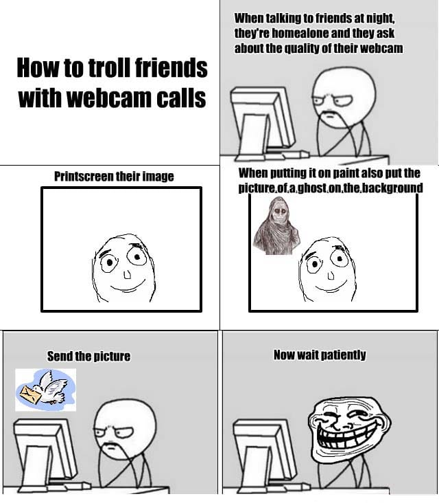 trolling-friends-with-webcam-calls