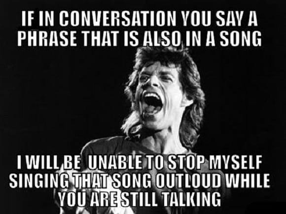 Funniest Meme Conversations : Using song phrases in conversations