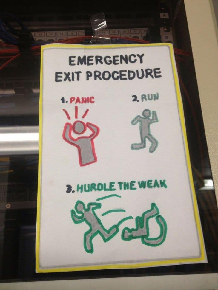 emergency-exit-procedure
