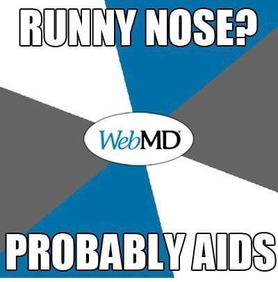 WebMD - lmao