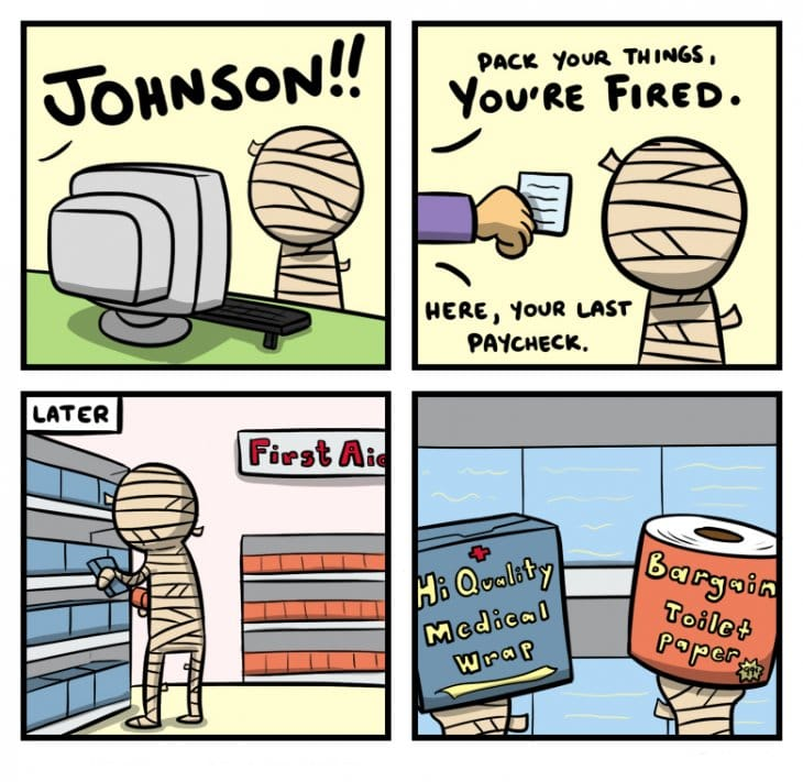Funny Meme Comic Jokes : When you re fired