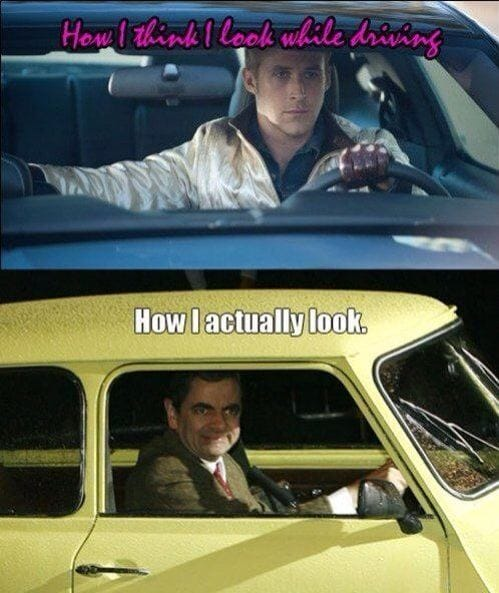how-i-think-i-look-while-driving
