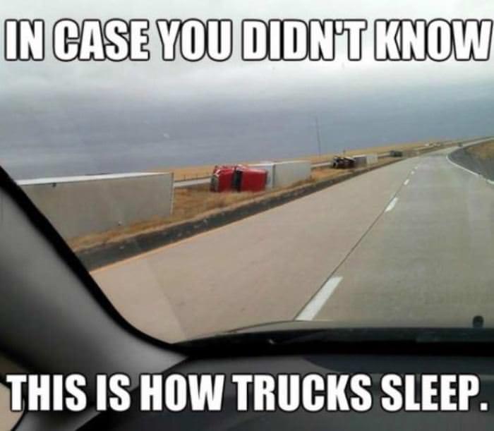 how-trucks-sleep
