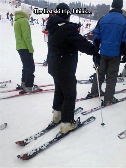 the-first-ski-trip