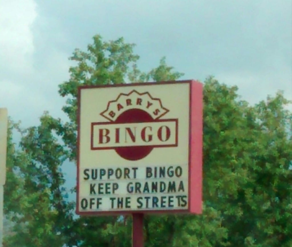 support-bingo